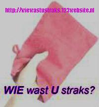 voor meer info: http://wiewastustraks.123website.nl/